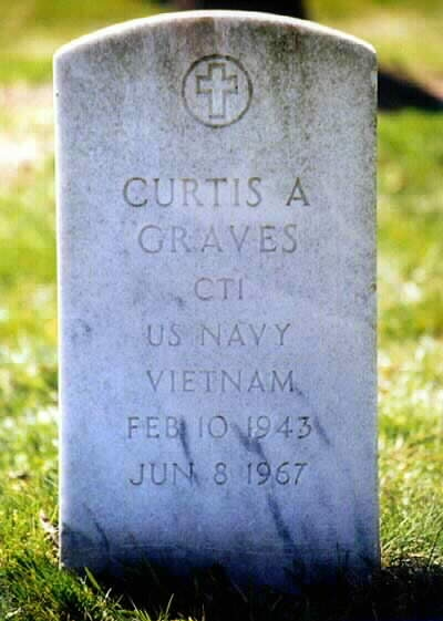 CURTIS A. GRAVES  February 10, 1943 - June 8, 1967
